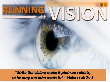 Running with Vision